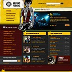 webdesign : melody, hit, interview